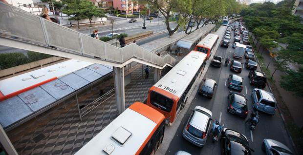 Corredor de ônibus da Rebouças | André Porto/Metro
