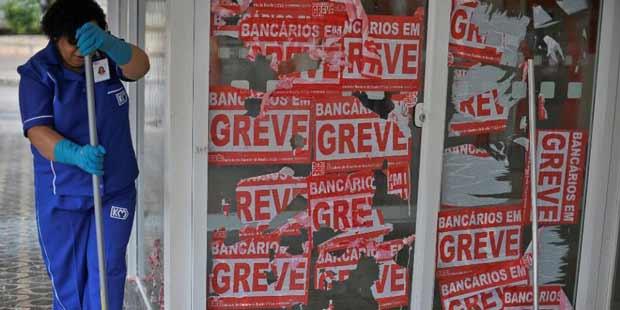 Bancários ficaram parados por 23 dias | Marcello Casal Jr/ABr