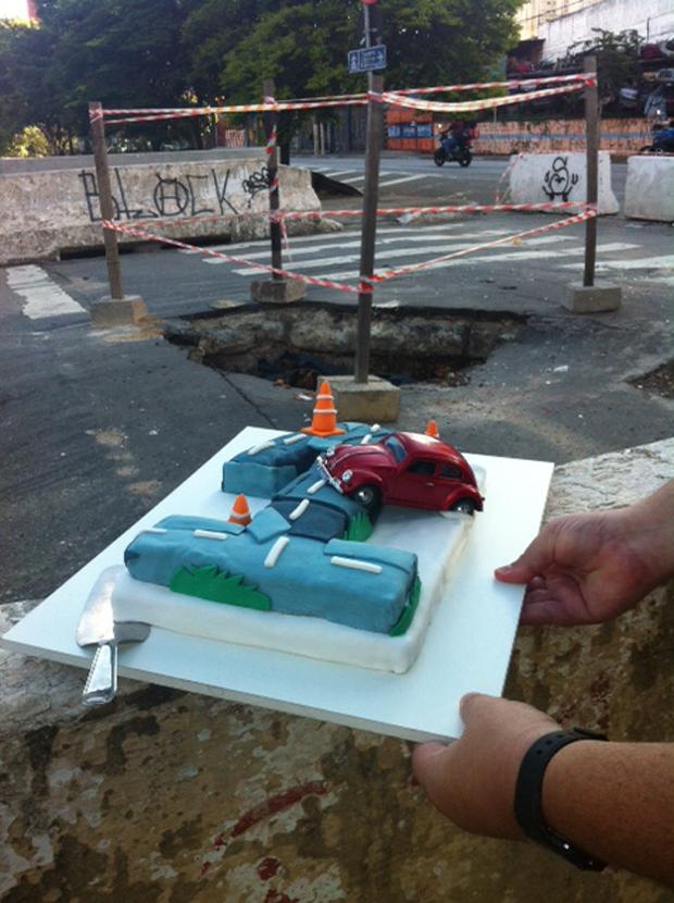 Cruzamento da Avenida Ricardo Jafet com a Rua Santa Cruz / Reprodução BandNews