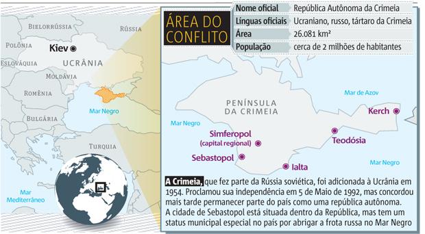 Entenda o conflito na Crimeia | Clique para ampliar