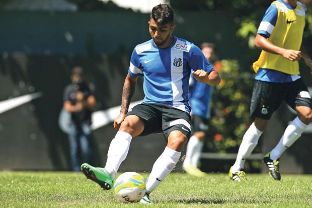 Gabriel pode atuar como meia contra o Bragantino | Guilherme Dionizio/Folhapress