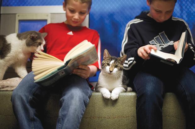 Companhia estimula a vontade de ler | Mark Makela/Reuters