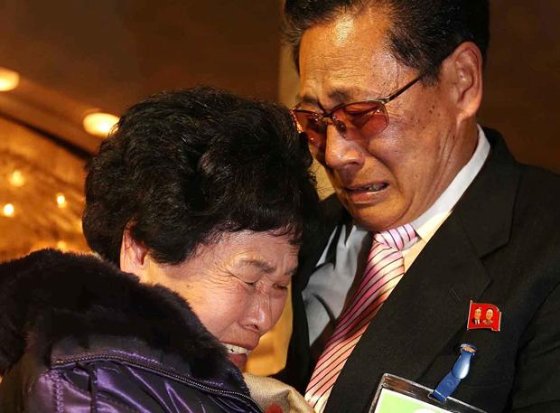 Irmãos voltam a se encontrar | Lee Ji-eun/Reuters