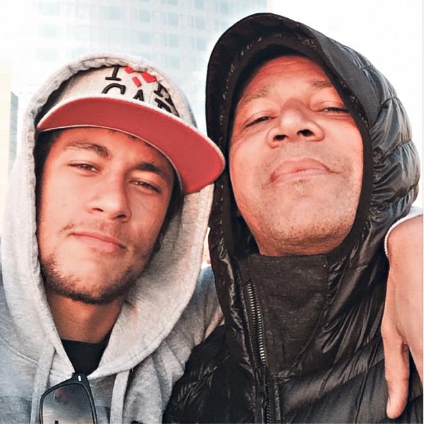 Neymar ao lado do pai | Reprodução/Instagram