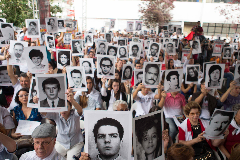 Famílias de vítimas fazem ato em São Paulo | Danilo Verpa/Folhapress
