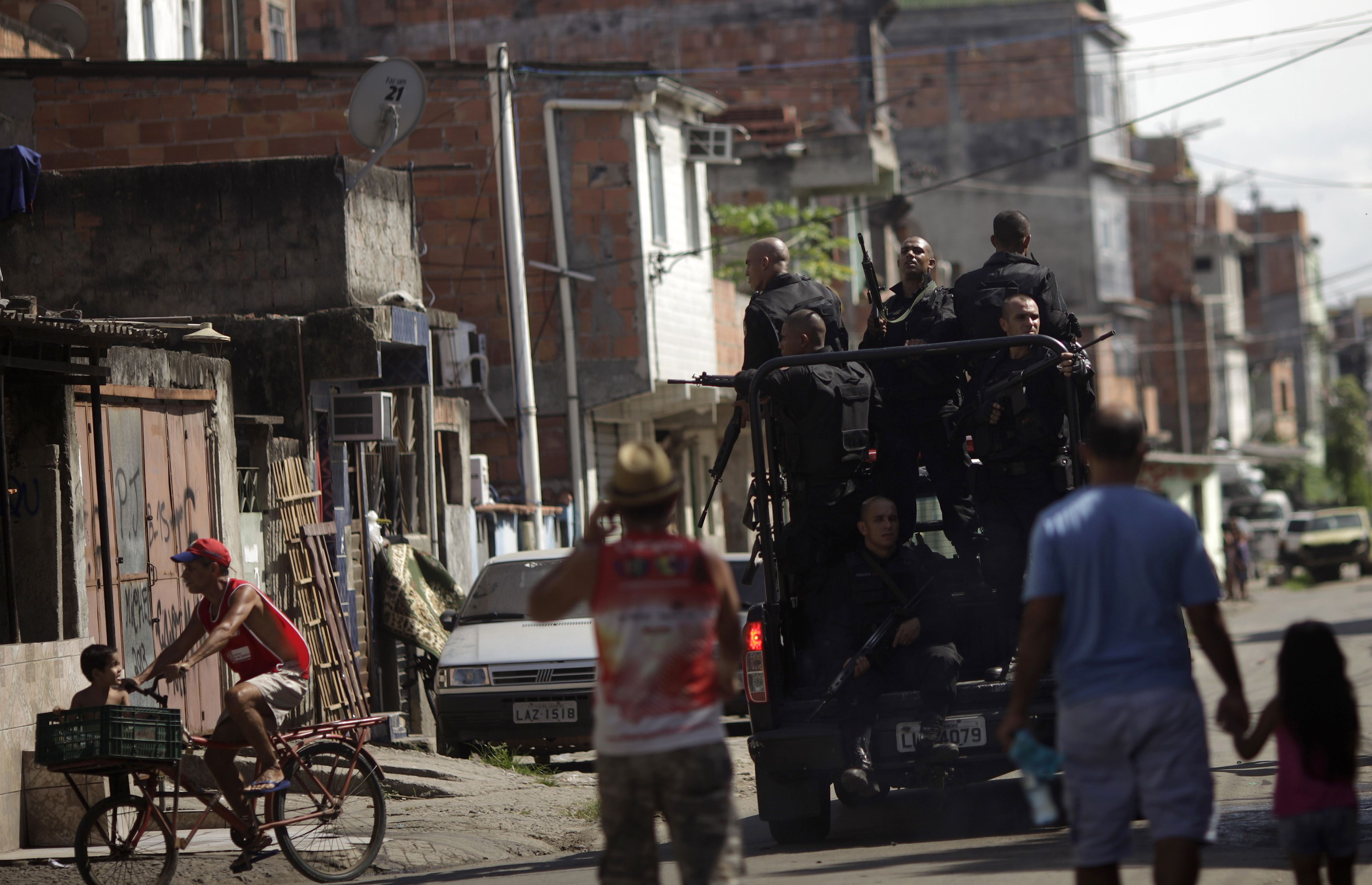 Ocupação no Complexo da Maré, no Rio de Janeiro | Sergio Moraes/Reuters