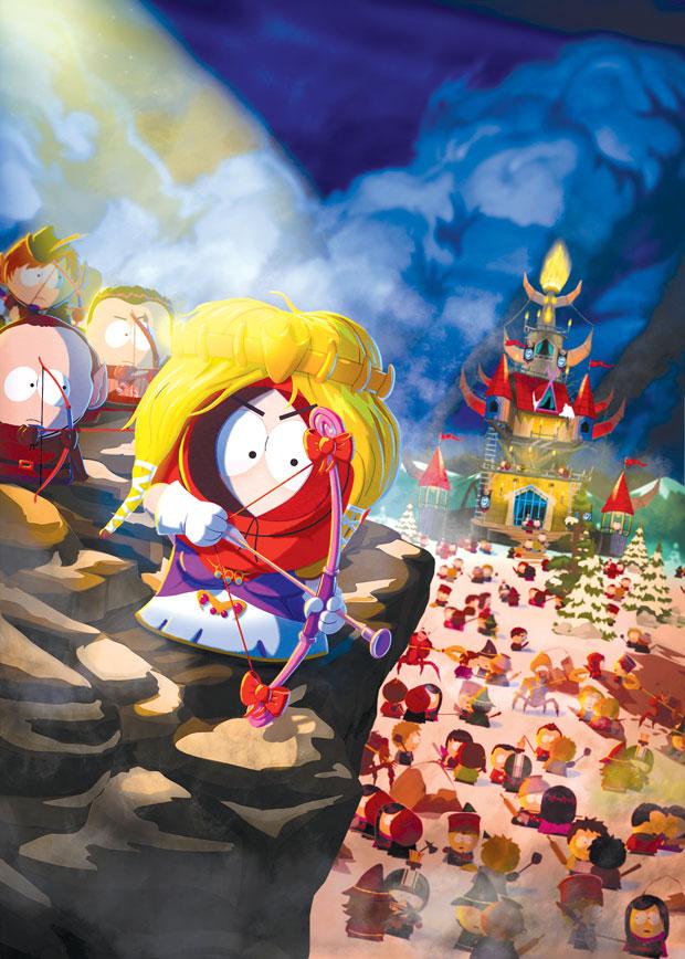 Arte conceitual mostra Kenny como princesa em 'The Stick of Truth' | Divulgação