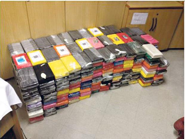 Ao todo, PF apreendeu 3,7 toneladas de cocaína | Divulgação/PF
