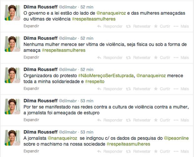 Dilma-Rousseff-Nana-Metro-Brasilia-Twitter-Divulgação