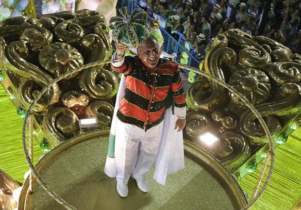 Imperatriz fez homenagem a Zico / Ricardo Moraes / Reuters