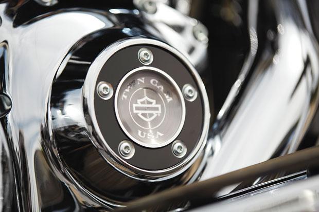 Detalhe cromado valoriza as motos