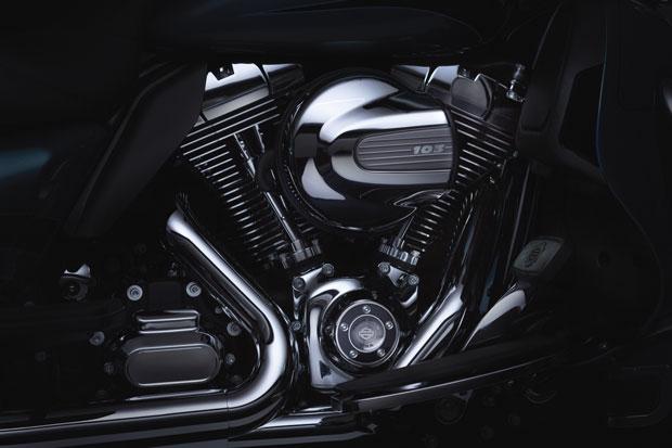 Motor tem 1.690 cc de dois cilindros