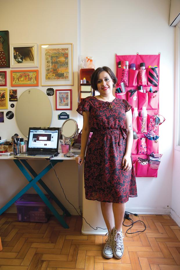 Adriana: clientela garantida pela web | André Porto/Metro