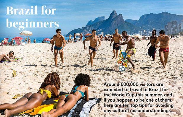 Guia recomenda que estrangeiros não achem que capital do Brasil é Buenos Aires / Reprodução internet