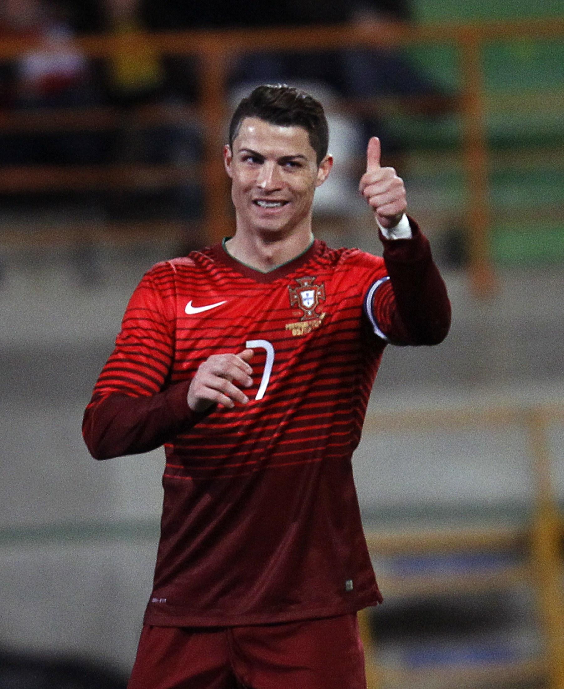 Cristiano Ronaldo superou Pauleta como maior artilheiro da história na seleção portuguesa | Hugo Correia/Reuters