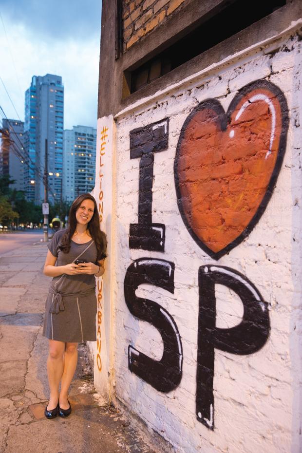 Gabriela e o Tumblr: 'Olhe os Muros' | André Porto/Metro
