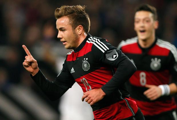 Götze comemora o gol da vitória da Alemanha | Wolfgang Rattay/Reuters