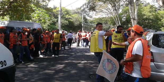 Tropa de Choque está dentro do Palácio, mas a situação é tranquila na região / Renata Carvalho / Rádio SulAmérica Trânsito