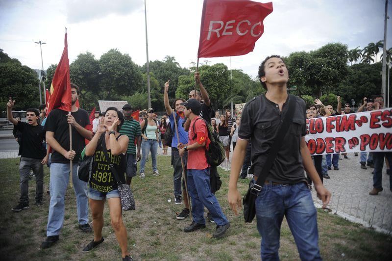 Manifestação antifascismo aconteceu no mesmo horário | Fernando Frazão
