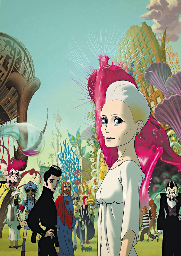 A atriz Robin Wright em formato de animação | Divulgação