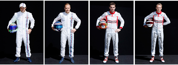 Felipe Massa e Valtery Bottas (Williams) -  | Brandon Malone/Reuters
