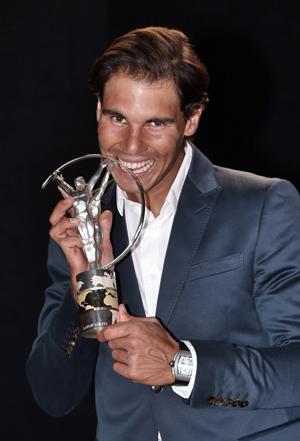Rafael Nadal desbancou Ronaldinho Gaúcho na categoria
