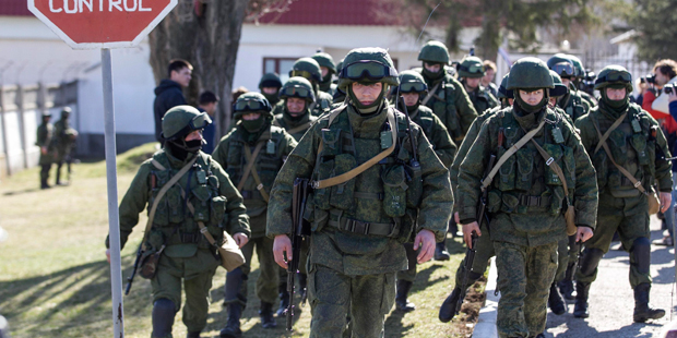 Ocidente quer saída diplomática de russos na Ucrânia /Baz Ratner / Reuters