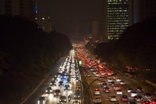 Trânsito na avenida 23 de Maio | André M. Chang/Fotoarena/Folhapress