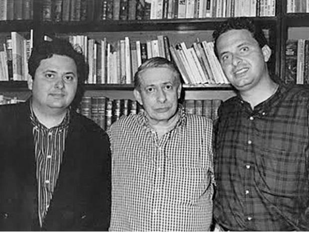 Campos (à dir.) homenageou o seu pai nas redes sociais | divulgacão