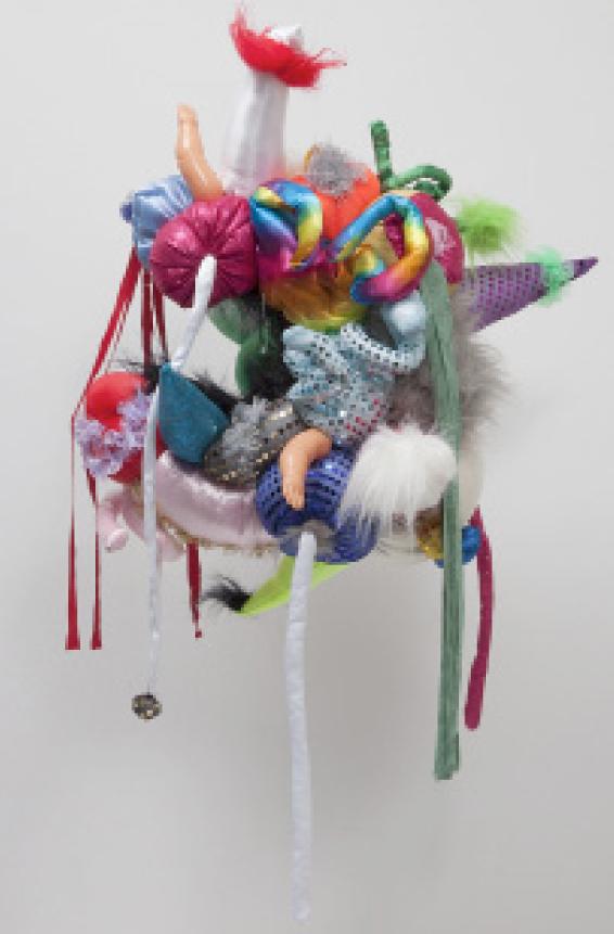Trabalho de Maria Lynch para a mostra