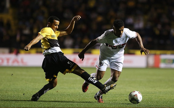 Com a derrota em Criciúma, o São Paulo precisa vencer no Morumbi para avançar na competição | Rubens Chiri/Divulgação