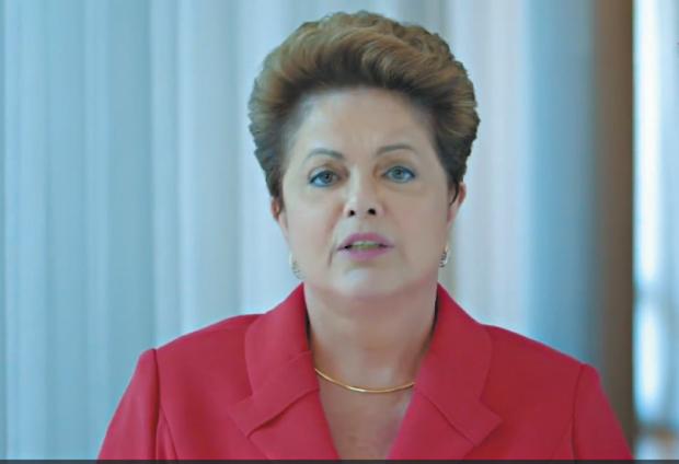 Dilma divulgou video em sua página no Facebook | Reprodução