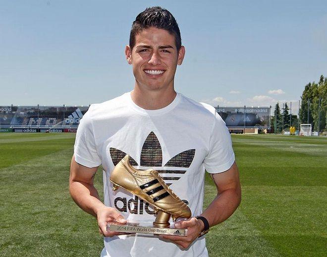 James Rodríguez foi artilheiro da Copa com seis gols em cinco jogos / Divulgação / Real Madrid