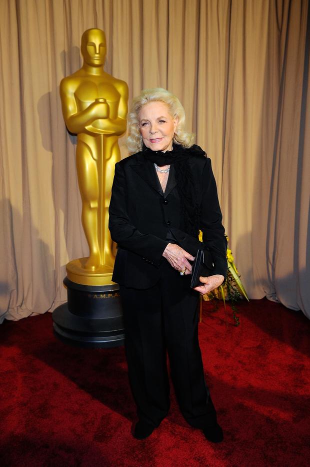 Lauren Bacall durante a cerimônia do Oscar em 2010 | Kevork Djansezian/Getty Images