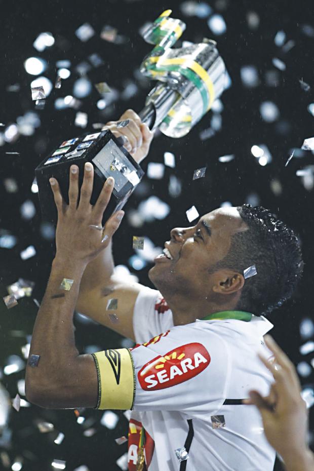 Atacante foi capitão do Peixe em 2010 | Ueslei Marcelino/Agif/Folhapress