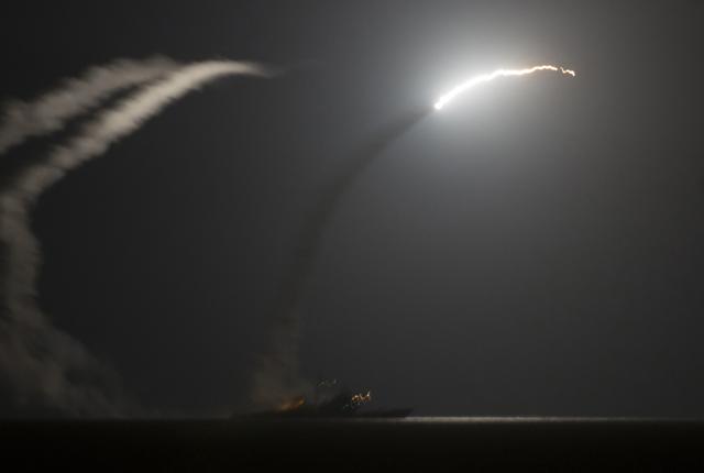 Míssil Tomahawk é lançado do Golfo Pérsico nesta terça | Mass Communication Specialist 1st Class Eric Garst/U.S. Navy/Handout/Reuters