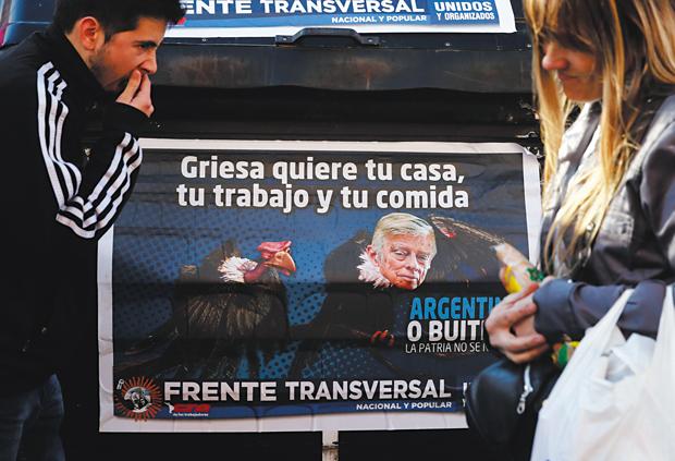 Juiz Griesa foi alvo de protestos em junho | Marcos Brindicci/Reuters