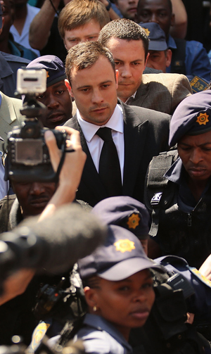 Pistorius foi julgado pela morte da namorada | Alon Skuy/Pool/Reuters