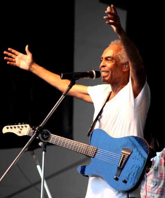 Gilberto Gil cantará de graça no Parque Ibirapuera | Divulgação