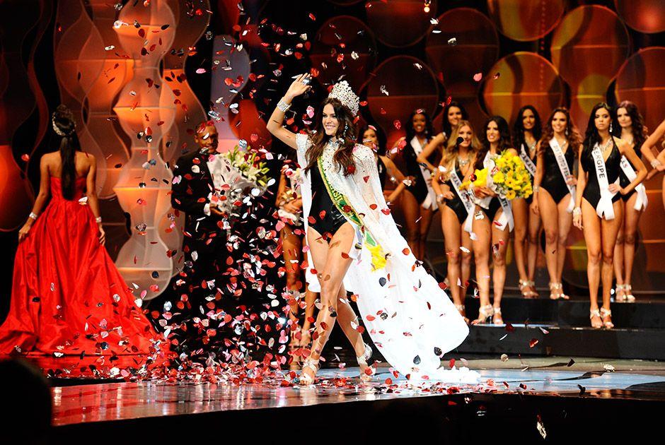 Melissa Gurgel é a Miss Brasil 2014 Lucas Ismael/Band