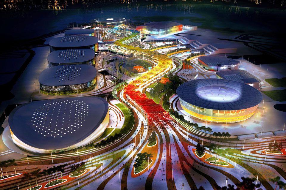 Parque Olímpico previsto para ser construído na Barra / Divulgação COI