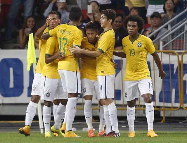Seleção Brasileira goleou o Japão | Edgar Su/Reuters
