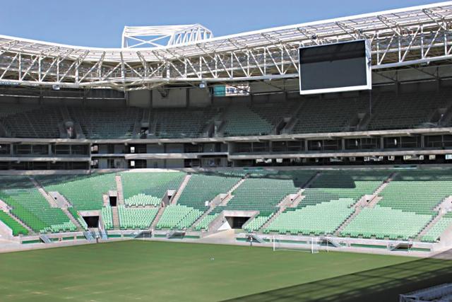 Allianz Parque está 97% concluído | Thiago Fatichi/Divulgação