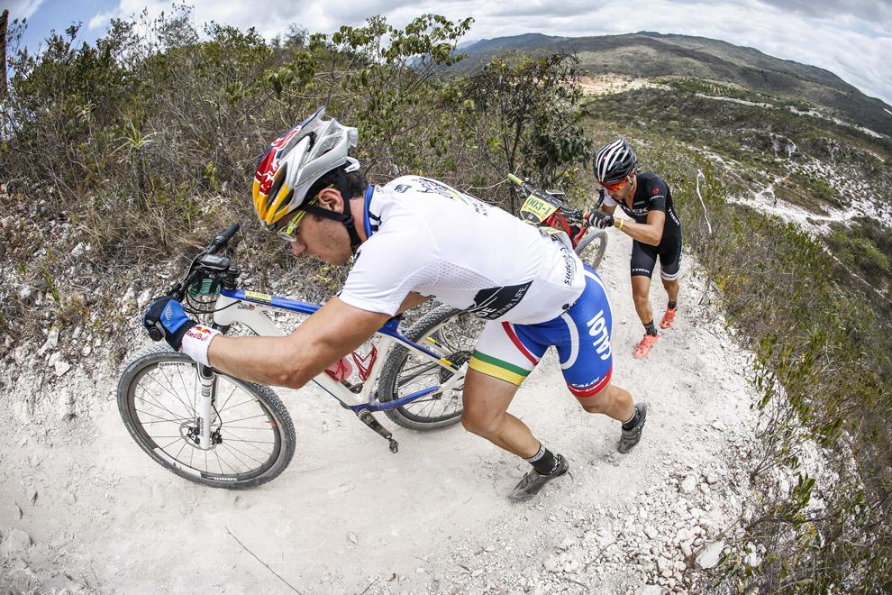 Henrique Avancini (esq.) e Sérgio Mantecón | Fábio Piva/Brasil Ride