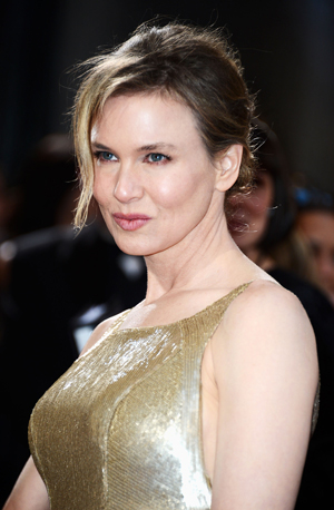 Reneé Zellweger durante a cerimônia do Oscar de 2013 | Frazer Harrison/Getty Images