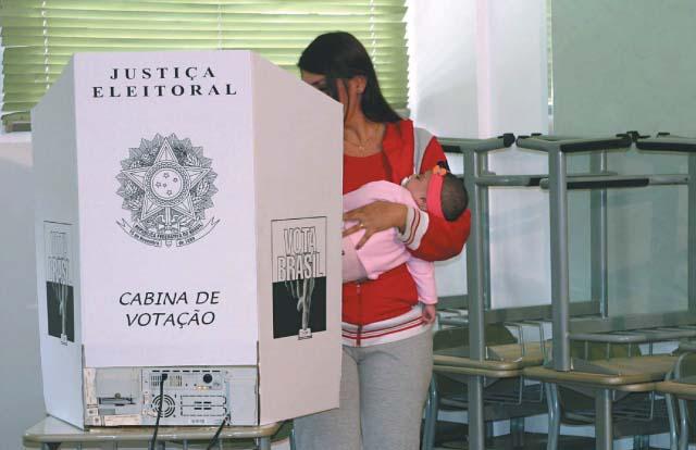 Brasileiros entre 18 e 70 anos de idade são obrigados a votar | Moises Dias/ Futurapress