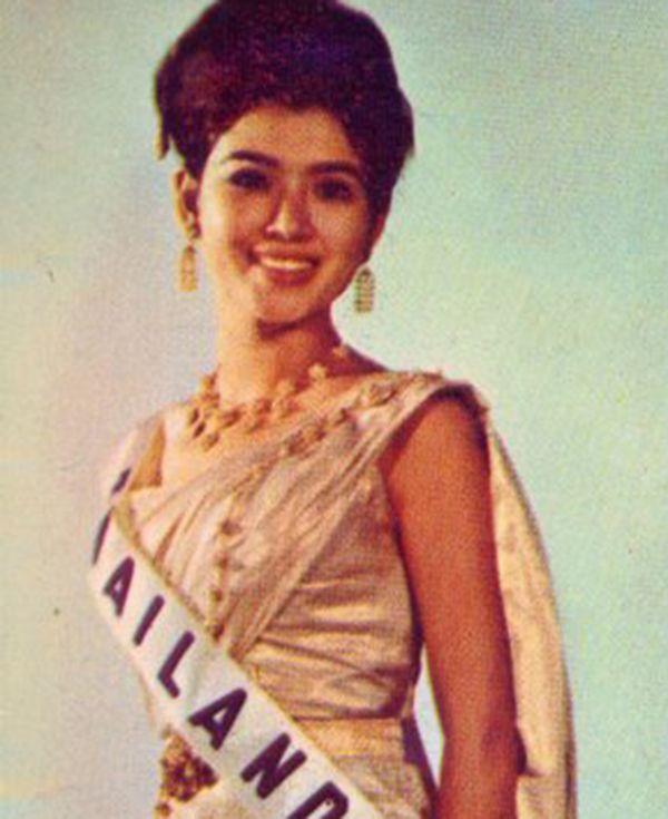 A Miss Tailândia venceu o Miss Universo em 1965 | Divulgação/Facebook