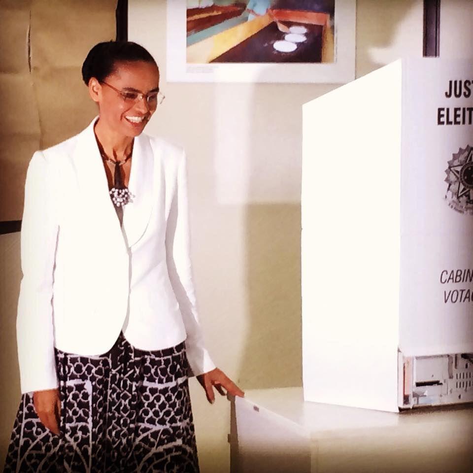 Candidata pediu união aos brasileiros | Facebook/Reprodução