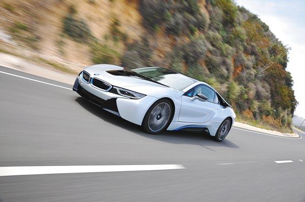 i8 é destaque da BMW | Divulgação