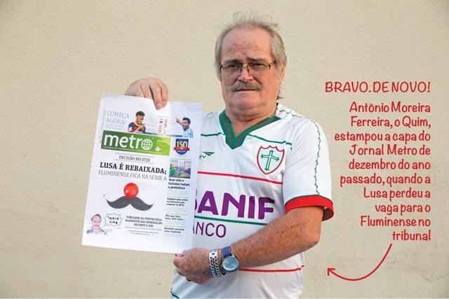 Quim encarou com bom humor a queda da Lusa  | André Porto/Metro
